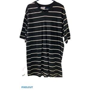 King Maker 3XL Short Sleeve  Black & White  Long